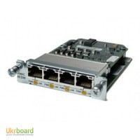 Модуль Cisco Four port 10/100 Ethernet switch interface card HWIC-4ESW