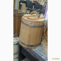 Деревянная бочка кадка для засола