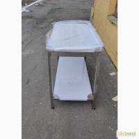 Продам б/у стол промышленный из нержавейки