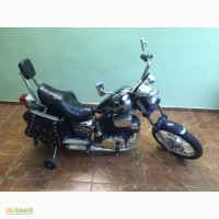 Детский электромотоцикл в стиле Harley-Davidson