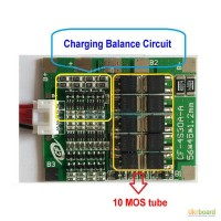 Контролер заряда разряда 4S Li-ioN для переделки шуруповерта 14.8V 70А BMS