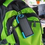 Солнечная батарея для зарядки телефона Power Bank Solar 10000S
