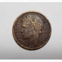 Французская Западная Африка 1 франк 1944 год