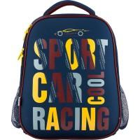 Рюкзак школьный каркасный для мальчика Catsline K18-531M-1 ортопедическая спинка