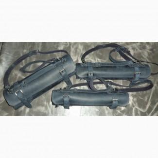 Чехлы и скрутки из кожи и замши для ножей и инструментов различного назначения