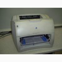 Лазерный принтер HP LaserJet 1200, рабочий, заправлен