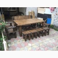 Садовая мебель, Мебель для терассы, Мебель из дуба