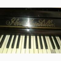 Фортепиано немецкое Братья Штайнхиллеры. Нуждается в настройке