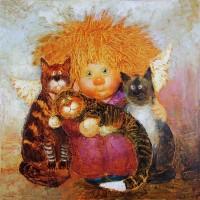 Картина маслом в детскую комнату