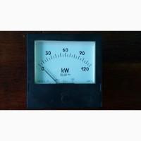 Киловатт-метр аналоговый на 120 КВТ