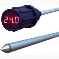 Термоштанга электронная (щуп термометр), термометр для зерна 2/3 метра