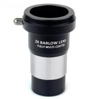 Окуляр линза Барлоу 2Х для 1.25 31.7 мм телескопа, камери