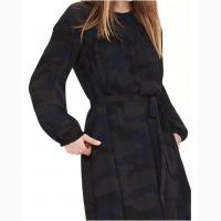 Платье воздушное цвета камуфляж новое Banana Republic размеры 6P и 2 состав 100% polyester
