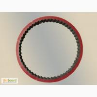 Ремень зубчатый протяжки пленки аналог 202 L 100 + Linatex 5mm для ФУА Базис