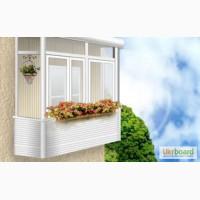Балкон - строительство, застеклить, ремонт и обшивка