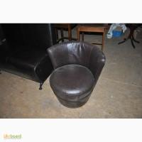 Продам кресла бу для паба бара ресторана, кресла выполнены из кож зама коричневого цвета
