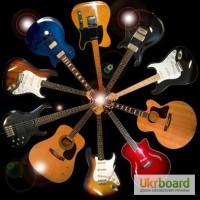 Настройка, регулировка гитар, грифа. Замена струн. Уроки гитары