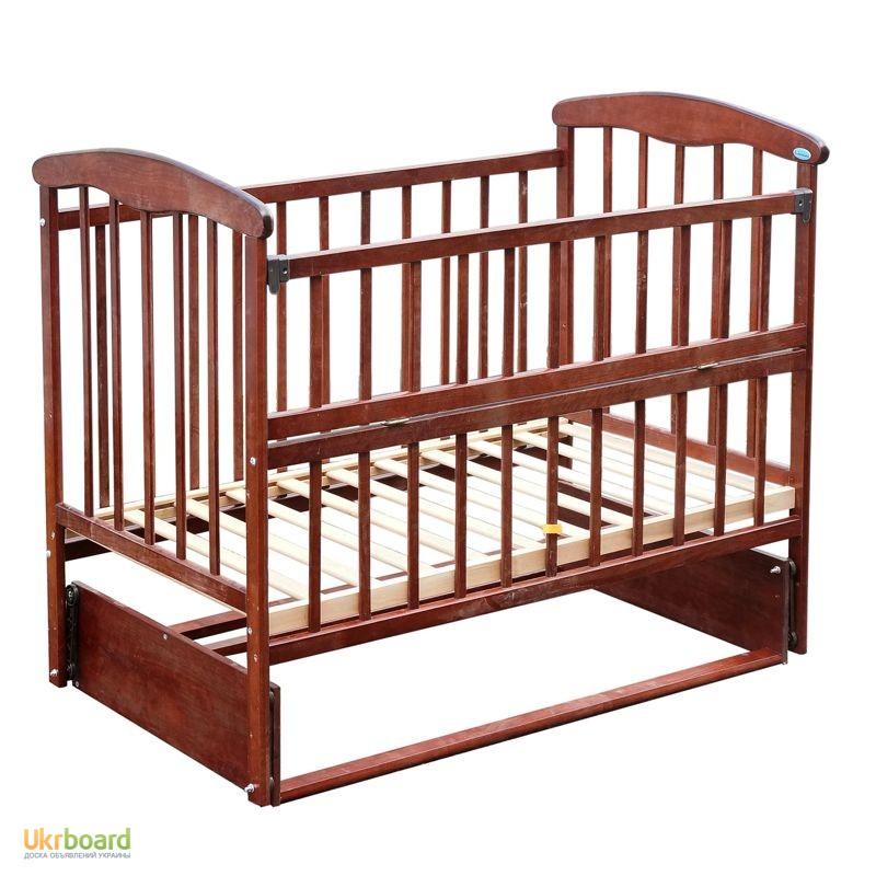 фото маятник деревянная кроватка