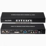 Конвертер-сплиттер-удлинитель CVBS/HDMI/VGA/DVI в SDI