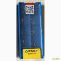Твердосплавная пластина DCGT 070202-AK H-01, Korloy