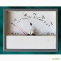 Вольтметр переменного напряжения 0-250 В