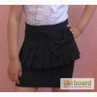 Детская юбка баска черный