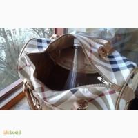 Сумки дамские, Genuine Leather (кожа) VERA PELLE, новая 35х23х13см, б/у