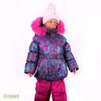 Зимний комбинезон для девочки 80-122 рост