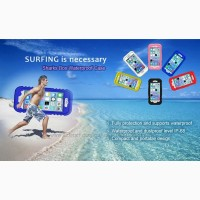 Чехол для iPhone 5.6.6+.7.7+ Waterproof Heavy Duty Hybrid Swimming Dive
