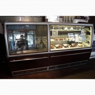 Холодильно морозильная витрина б/у Италия с гарантией