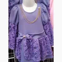 Детские платья для девочек возрастом 2, 3, 4 года оптом и в розницу