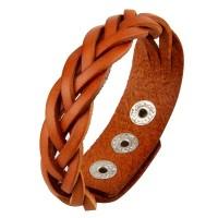 Продам кожаный плетеный браслет