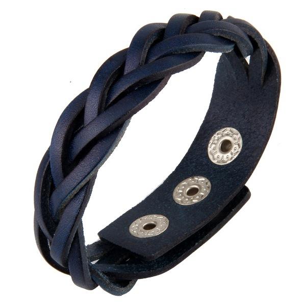 Фото 2/4. Продам кожаный плетеный браслет