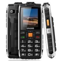 Телефон Uhans V5 Ударопрочный 2 - СИМ Карты Большой фонарик Камера Батарея 2500 мАч