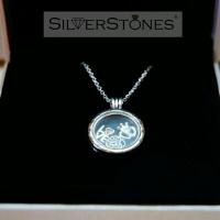 Оригинал Pandora Пандора колье медальон Pandora средний арт. 590529-60