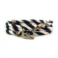 Морской браслет с якорем в стиле HERITAGE. Мужские и женские браслеты