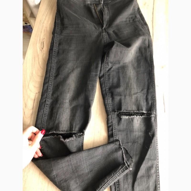 b691d774e86 Продам купить красивые черные джинсы с высокой талией и дырками на ...