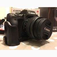 Canon EOS М5 цифровая фотокамера с объективом 15-45 мм