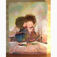 Копия картины Чувиляевой Ангелы желаний