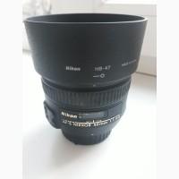 Продам обьектив Nikon AF-S Nikkor 50mm f/1.4G СРОЧНО