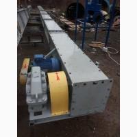 Скребковый транспортер СТ-8-20 (8 м длина, произв. 20 т/ч)