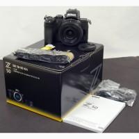Камера Nikon Z 50 с объективом Nikkor Z DX 16-50 мм