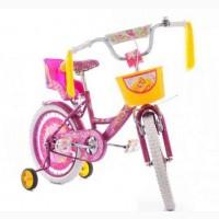 Детский велосипед Azimut Girls 20 с креслом для куклы