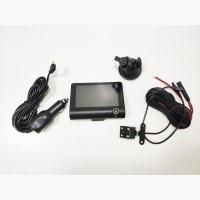 Видеорегистратор DVR SD319, автомобильный видеорегистратор 3 камеры