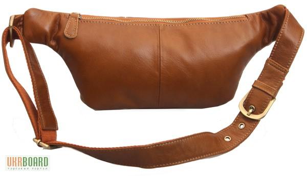 Фото 3. Продается мужская кожаная сумка на пояс из натуральной кожи теленка высшего качества
