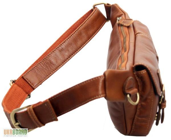 Фото 5. Продается мужская кожаная сумка на пояс из натуральной кожи теленка высшего качества