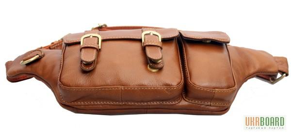 Фото 6. Продается мужская кожаная сумка на пояс из натуральной кожи теленка высшего качества