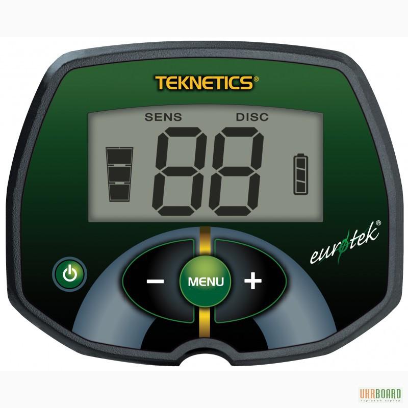 Фото 2. Металлоискатель Teknetics Eurotek. Доставка по Всей Украине.