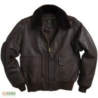 Кожаные лётные куртки палубной авиации США от Alpha Industries (USA)