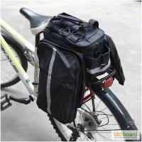 Велосумка-трансформер на багажник JSZ